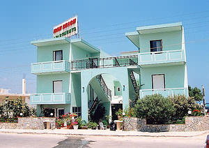 Irini Beach Apartments, sea-front Kolimbari, Nomos Chanion, Crete.